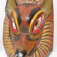 e1fed7d6a838 ... Σκύλος μάσκα ξύλινα χειροποίητα στον Εκουαδόρ